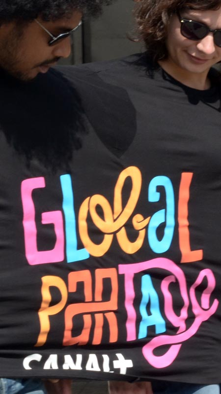 Double tee-shirt - Global partage